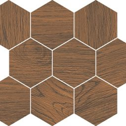 Mozaika FINWOOD ochra mosaic hexagon 28x33,7