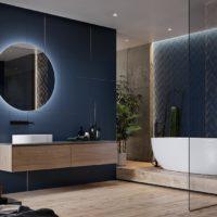 Koupelna Love You Navy Blue 1