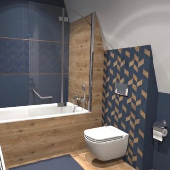Koupelna Love You Navy Blue 6