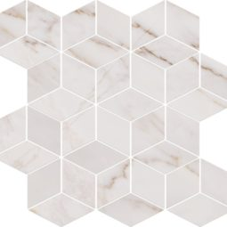 Mozaika Carrara Pulpis White