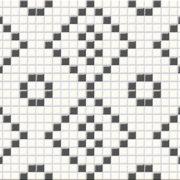 Obklad Black&White mosaic 25×75