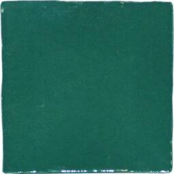 Obklad Crayon Marine Green glossy 13x13