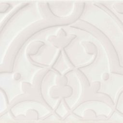 Obklad Morris Orchid All White 12,5x25