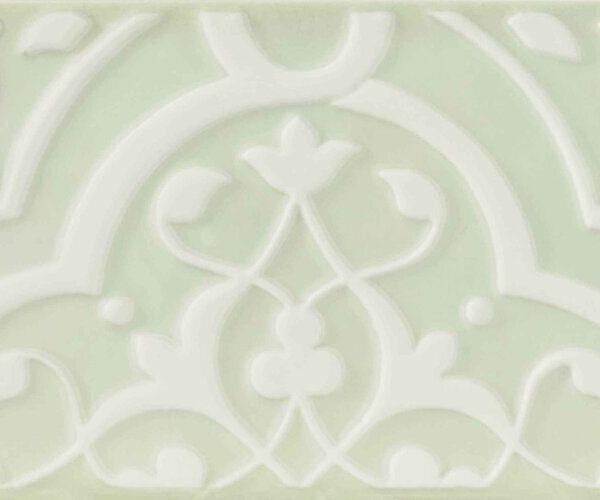 Obklad Morris Orchid Green Mamba 12,5×25