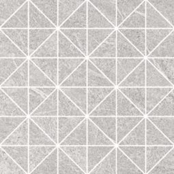 Mozaika Grey Blanket Triangle Mosaic Micro 29x29