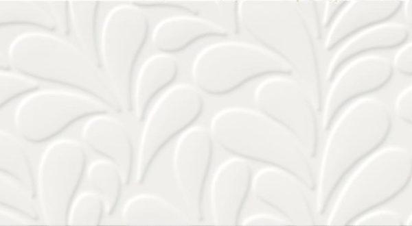 Obklad Moon Line White Satin Structure 29×89